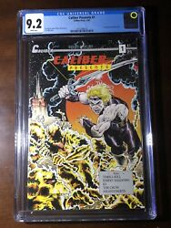 Caliber Presents 1 1989 - 1st Crow - Cgc 9.2 - Key - White Pages