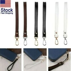 Leather Buckle Wrist Strap Replacement Wristlet for Purse Wallets Keychain Bags $11.10