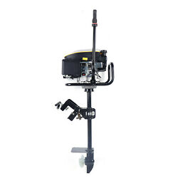 9.0 Hp 4-stroke Outboard Motor Fishing Boat Engine Air Cooling System 225cc Ce