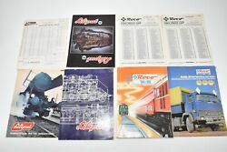 Vintage Model Train Liliput And Roco Catalogs Order Forms, Brochures Price Lists