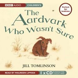 The Aardvark Who Wasn't Sure By Tomlinson, Jill Cd-audio Book The Fast Free