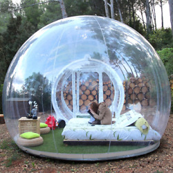 3m Outdoor Camping Inflatable Bubble Tent Large Diy House Home Backyard Camping
