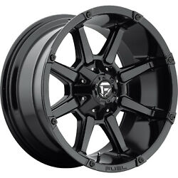 4- 20x10 Gloss Black Fuel Coupler D575 5x5.5 And 5x150 -24 Wheels 285/55/20 Tires