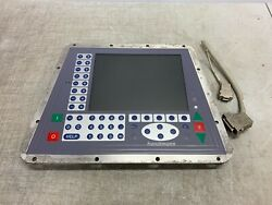 Front Control Panel And Screen From Handtmann Vacuum Filler Stuffer Vf608