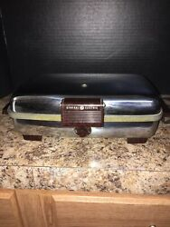 Vintage General Electric Ge Waffle Iron Automatic Grill Model 14g42