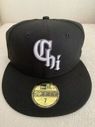 New Era Chicago White Sox City Connect 59fifty 5950 Hat Cap Size 7 Southside New