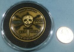 5th Special Forces Challenge Coin Alpha Company, 1st Battalion - Serialized