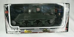 New-ray M4a3 Die-cast Metal Tank 132 Scale With Figure Nip 60103