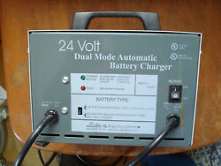 Lester 18330 24 Volt Dual Mode Automatic Wheel Chair Battery Charger Invacare