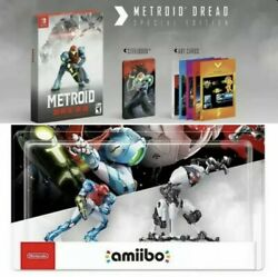 Metroid Dread Special Edition And Amiibo Set Sold Out Nintendo Switch - Pre-order.