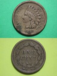 1859 Indian Head Cent Penny Exact Coin Shown Fast Flat Rate Shipping Oce 86