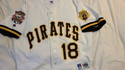 Andy Van Slyke 1994 Pittsburgh Pirates All Star Ltd Ed Authentic Jersey Size 44