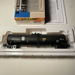 Walthers Gold Line Ho Scale - Utlx 643167 23k Funnel Flow Tank Car 932-7278