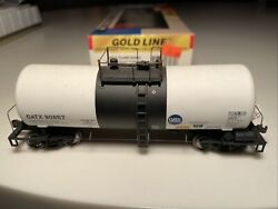 Walthers Gold Line Ho Gatx 90657 16k Funnel Flow Tank Car 932-7231 Caustic