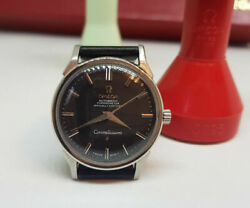 Rare 1966 Omega Constellation Black Dial Auto Cal561 Manand039s Watch