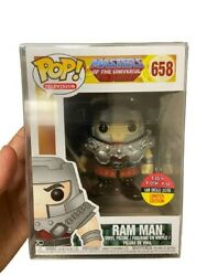 New Toy Tokyo/sdcc 2018 Masters Of The Universe Ram Man Funko Pop