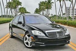 2013 Mercedes-benz S-class S550 2 Owner Florida Car - Only 57k Miles - Certified Pre Owned - Amg Package/ Wheels