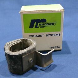 Vintage Mccord Muffler Pipe Ehhaust System Part No. Tpb674 Rubber Hanger Ford