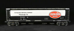 Mth Railking 30-75195 Pittsburgh Brew Co Iron City Beer 4-bay Hopper