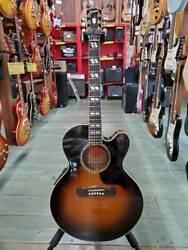 Gibson Acoustic-electric Guitar J-185 Ec Ship From Japan 0618