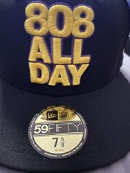 808allday 7 5/8 Kobe Bryant Laker Not Farmers Market Hawaii Fitted Hawaii Ds