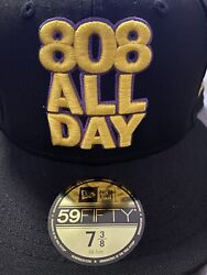 808allday 7 3/8 Kobe Bryant Laker Not Farmers Market Hawaii Fitted Hawaii Ds