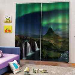 Rare Aurora In A Specific Period Printing 3d Blockout Curtains Fabric Window