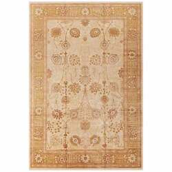 Safavieh Couture Hand-knotted Peshawar Sirlei Traditional Ivory/gold 8and039 X 10and039