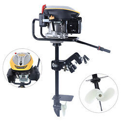 4 Stroke Outboard Motor Fishing Boat Engine Air Cooling System 4500r/min 225cc