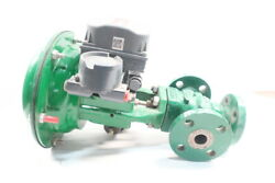 Fisher Type Gx Pneumatic Steel Flanged Control Valve Nps 1in 300 Dvc6200
