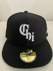 New Era Chicago White Sox City Connect 59fifty 5950 Hat 7 3/8 Southside Cap New