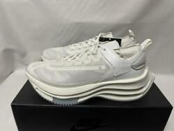 Men 9.5us Nike Zoom Double Stacked White Number061814