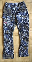 Sitka Equinox Pant Womens Size 26 Camo Camouflage Whitetail Hunting Pants
