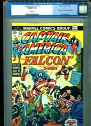 Captain America 173 Cgc 9.8 1974 Falcon X-men Nick Fury White Pages Highest