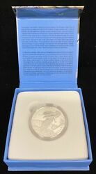 2014 Canadian 100 Fine Silver Coin Majestic Bald Eagle With Box