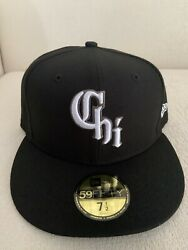 New Era Chicago White Sox City Connect 59fifty 5950 Hat 7 1/2 Cap Southside New