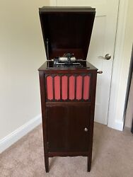 Edison Amberola 75 - Excellent Condition - Looks And Plays Great Rare And Htf