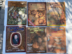The Leather Crafters And Saddlers Journal 2005. Complete Set 6 Issues