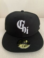 New Era Chicago White Sox City Connect 59fifty 5950 Hat 7 5/8 Southside Cap New