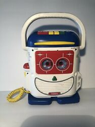 Rare Blue Top Mr Mike Mic Toy Story 93 Ps-465 Cassette Recorder Playskool Tested
