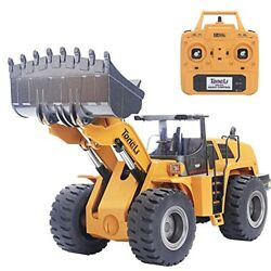Tongli 583 114 Scale Metal Rc Wheel Loader Toy Construction Trucks Vehicles