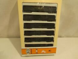 N Gauge Con-cor Southern Pacific 6 Car Heavyweight Passenger Set In Ob