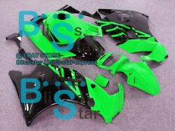 Green Glossy Abs Fairing With Tank Cover Kit Fit Honda Cbr600f2 1991-1994 12 A3
