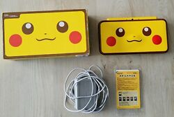 Nintendo 2ds Xl Pikachu Edition Console- Barely Used- Ships Fast From Us