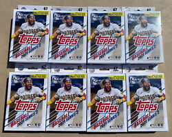 Lot Of 8 2021 Topps Series 2 Baseball Hanger Boxes Sealed. In Hand Fast Ship