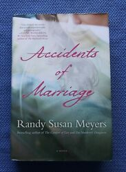 Accidents Of Marriage By Randy Susan Meyers New Signed 1st Fine Unread Hardcover