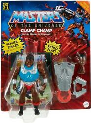 Masters Of The Universe Origins Deluxe Wave 3 Clamp Champ Action Figure