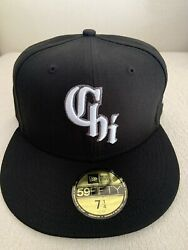 New Era Chicago White Sox City Connect 59fifty 5950 Hat 7 1/4 Cap Southside New