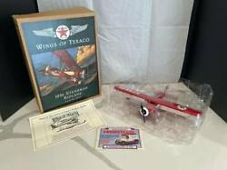 Texaco Wings Of Texaco--lot Of 4--planes/coin Banks