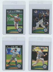 2011 TOPPS SERIES 1 2 amp; UPDATE BLACK BORDER SEATTLE MARINERS YOU PICK